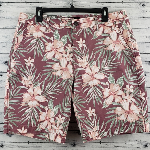 Aeropostale Other - Aeropostale Tropical Floral Print Chino Short 34